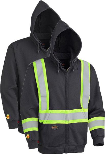 FR Hi-Viz Hoodie w/ Detachable Hood