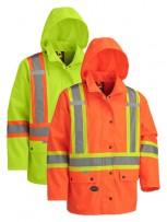Hi-Viz Waterproof Jacket