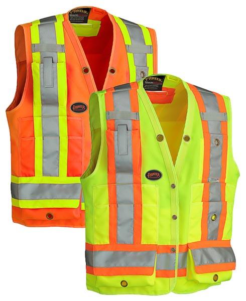 Hi-Viz Surveyor's Vest 150D
