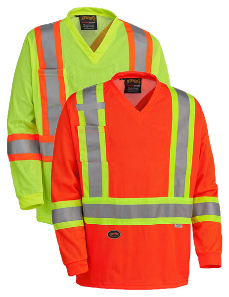 Hi-Viz Traffic Long-Sleeved Shirt
