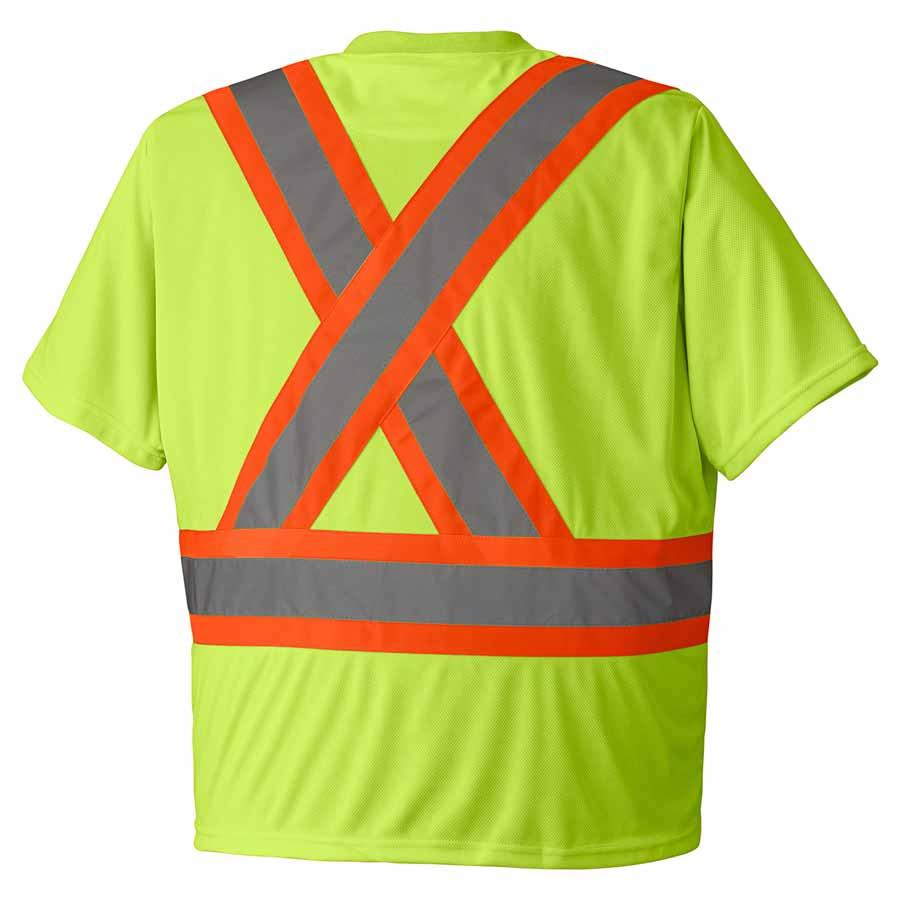Birdseye Hi Viz T Shirt Direct Workwear