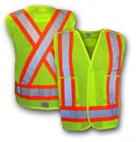 Hi-Viz CSA Traffic Vest