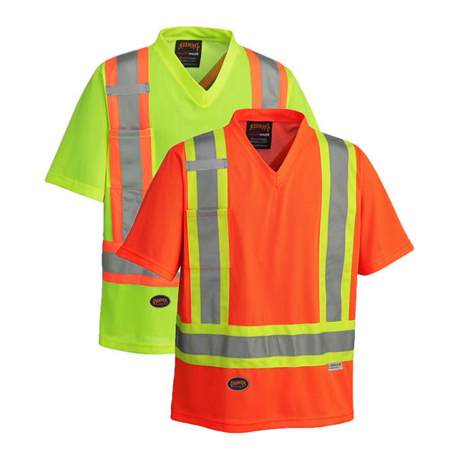 Hi Viz Traffic T Shirt Direct Workwear