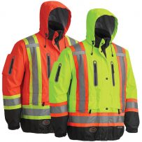 hiviz waterproof jacket