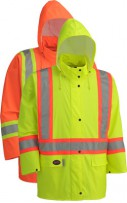 PU Stretch Hi-Viz Safety Jacket