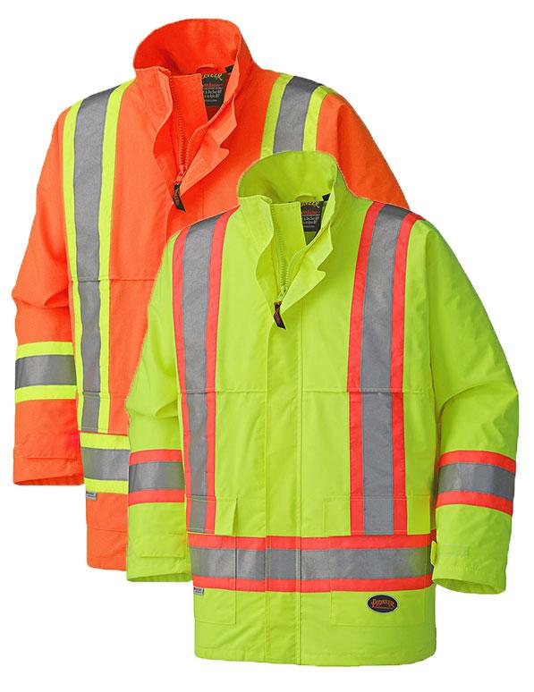 Hi-Viz Nailhead Ripstop Polyester Jacket