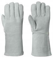 Fleece-Lined Welder's Cowsplit Glove