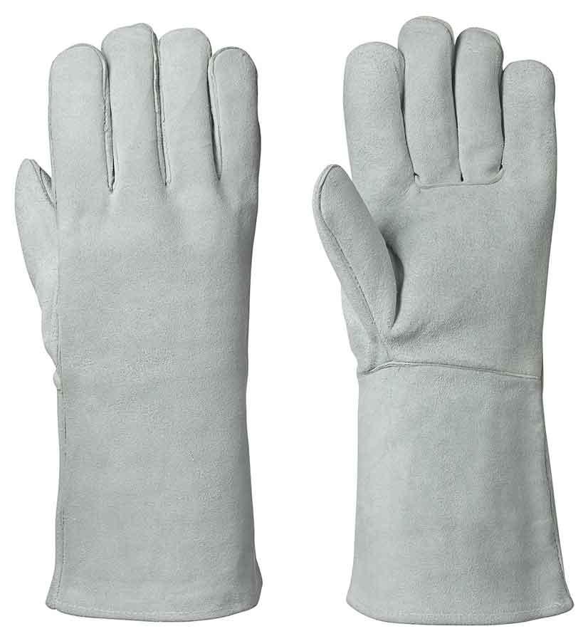 Fleece-Lined Welder's Cowsplit Glove