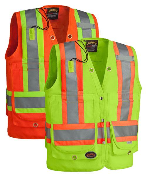 Hi Viz Surveyors Safety Vest 2 Direct Workwear