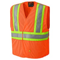 orange hi viz vest