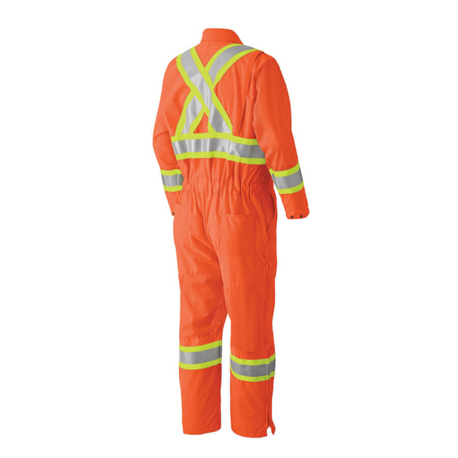 safety coverall orange