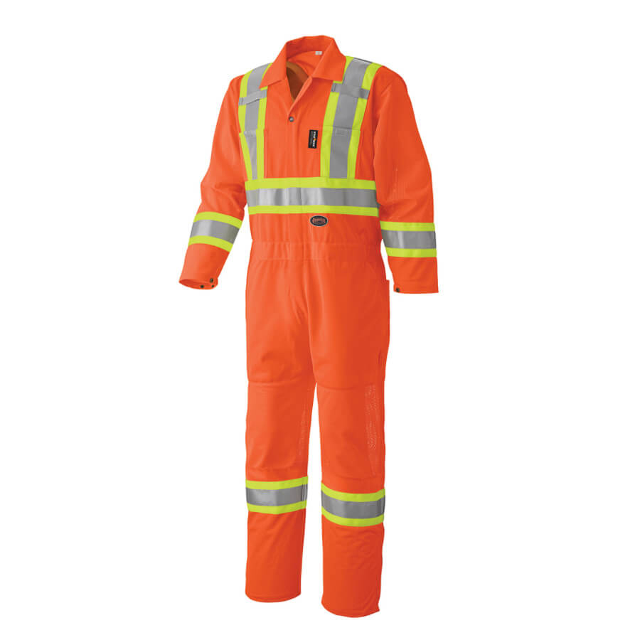 hi viz safety coverall