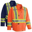 hi-viz traffic safety jacket
