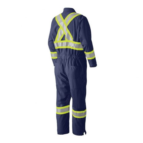 safety coverall navy blue