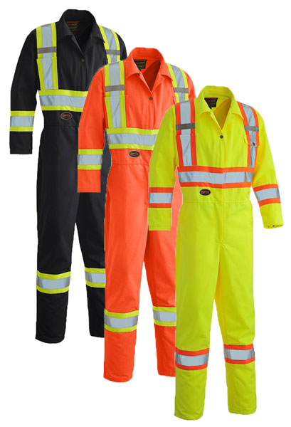 Hi-Viz Poly/Cotton Coveralls