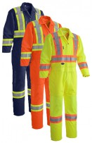 Hi-Viz Traffic Coveralls