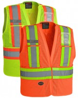 Hi-Viz Safety Tear-Away Vest