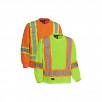 Cotton Long-Sleeved Hi-Viz Shirt