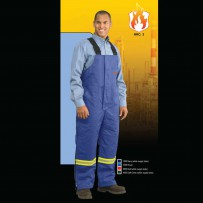 Fire retardant hi-viz bib overalls by alliance