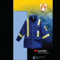 Fire retardant hi-viz insulated parka