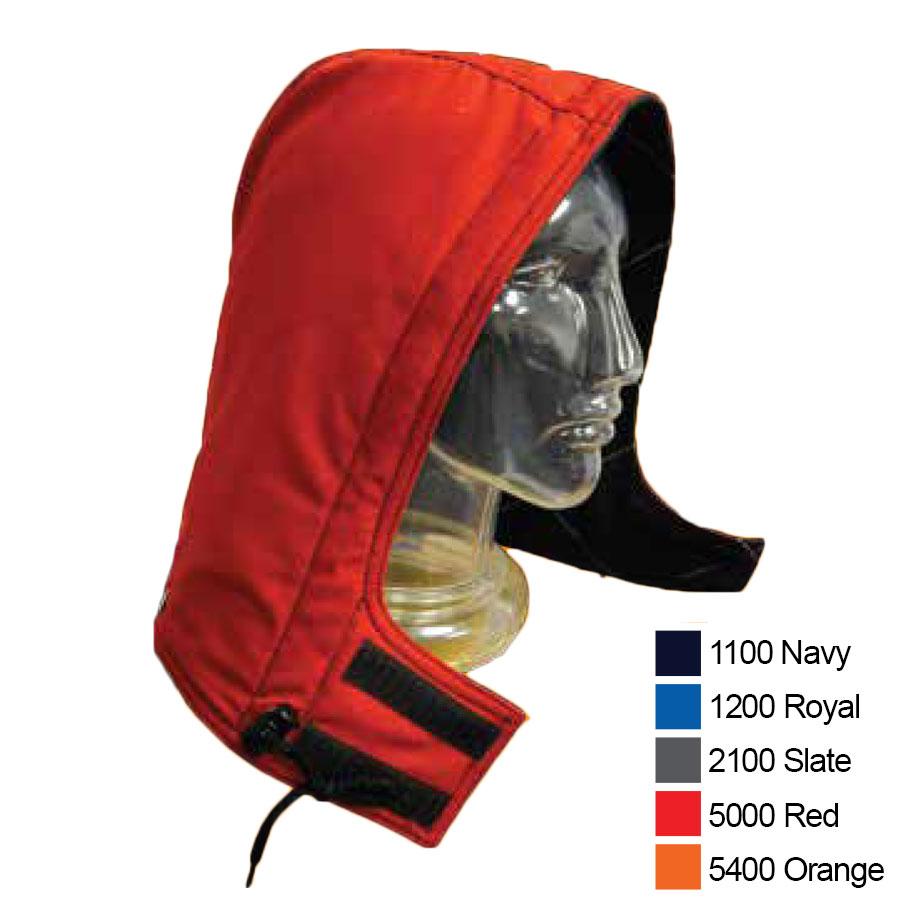 Fire retardant hood