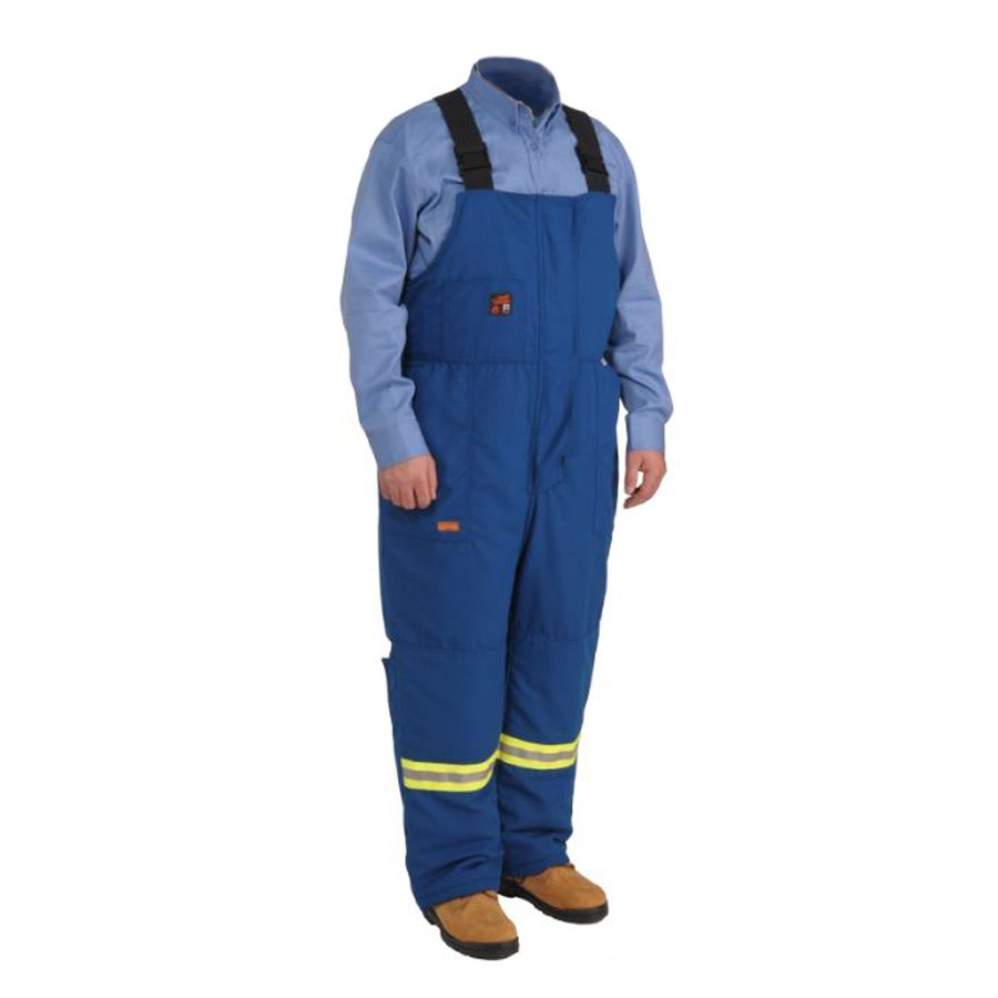 blue bib overalls insulated fr