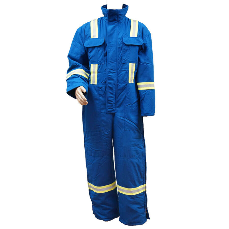 royal blue insulated nomex coveralls