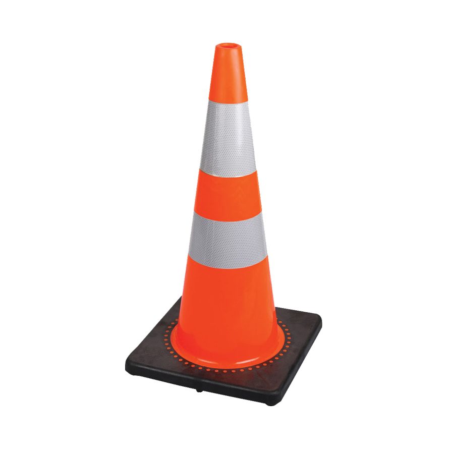 28 premium pvc flexible safety cone