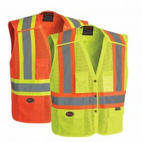 Hi-Viz Safety Vest with Snaps