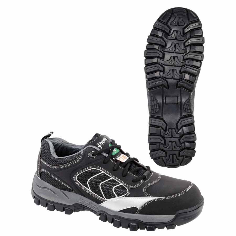 Low-Cut Metal-Free Safety Hiker/Warehouse Shoe