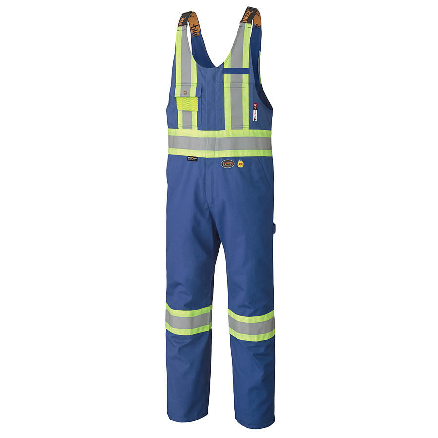 FR-Tech Flame Resistant Safety Hi-Viz Bib Overalls