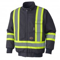 Hi-Viz Insulated Bomber Jacket