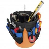 45 Pocket Bucket Organizer