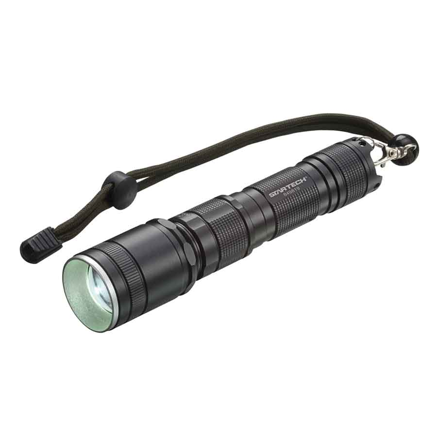 LED Flashlight - 600 lumens - with USB Charger