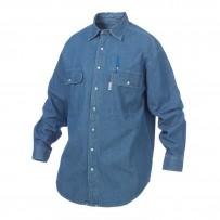 Snap Front Denim Shirt