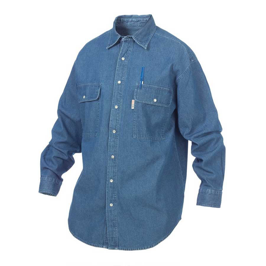 Snap Front Denim Shirt