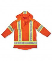 Big K Hi-Viz Cotton Duck Safety Parka/Jacket