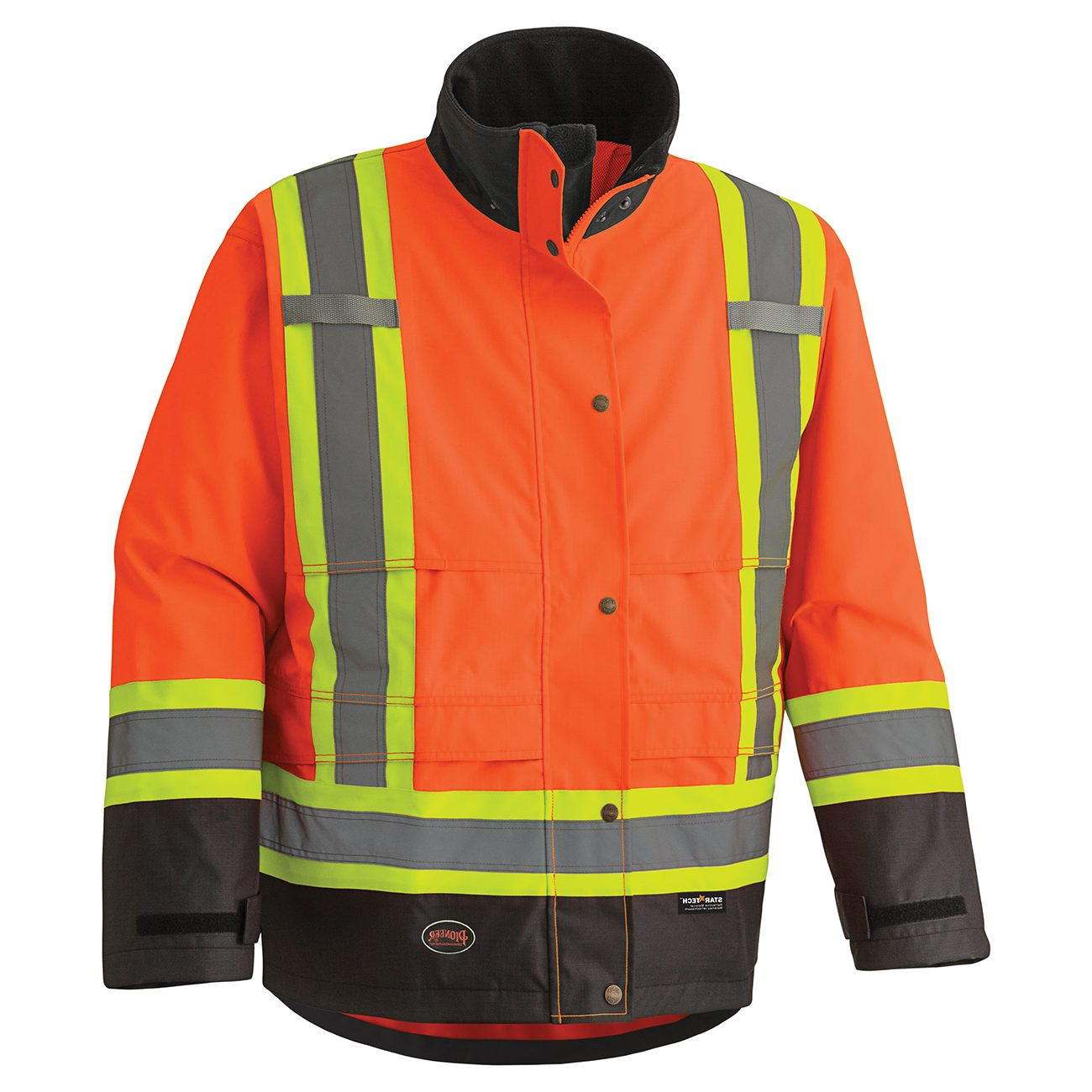 300d Hi Viz Ripstop Waterproof Safety Jacket Direct Workwear