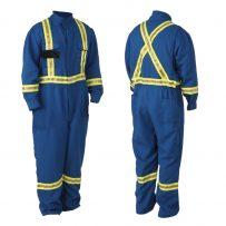 Viking Firewall FR HRC2 Hi-Viz Coveralls Edmonton Workwear