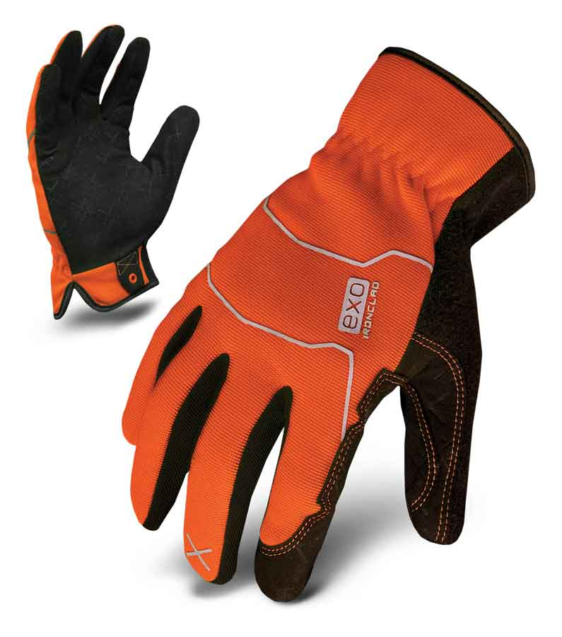 Hi-Viz Utility Orange Work Glove