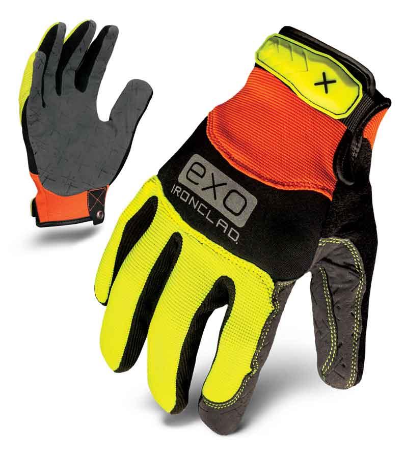Ironclad Hi-Viz Pro Industrial Athlete Glove
