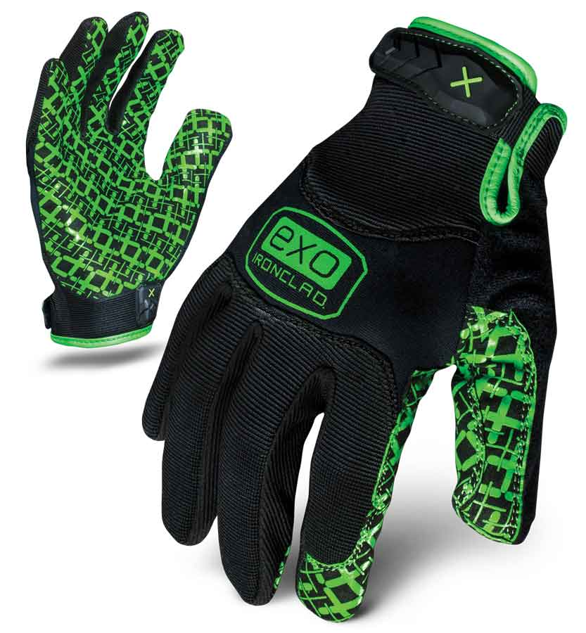 Motor Grip Ironclad Gloves