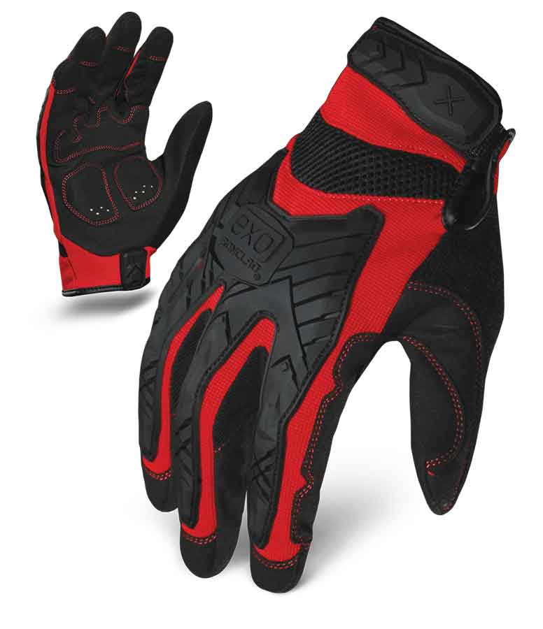 Motor Impact Ironclad Gloves