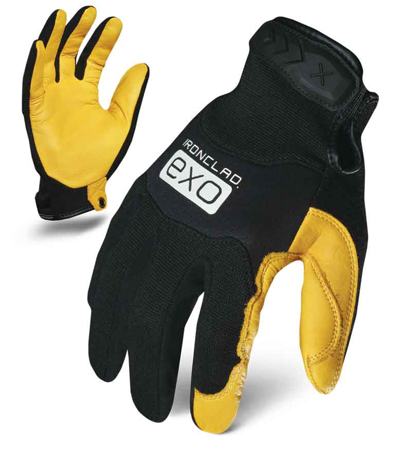 Motor Pro Gold Deer Ironclad Gloves