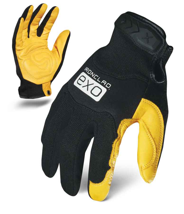 Ironclad Motor Pro Gold Goat Gloves