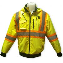 Self-Heating Big K Hi-Viz Safety Jacket