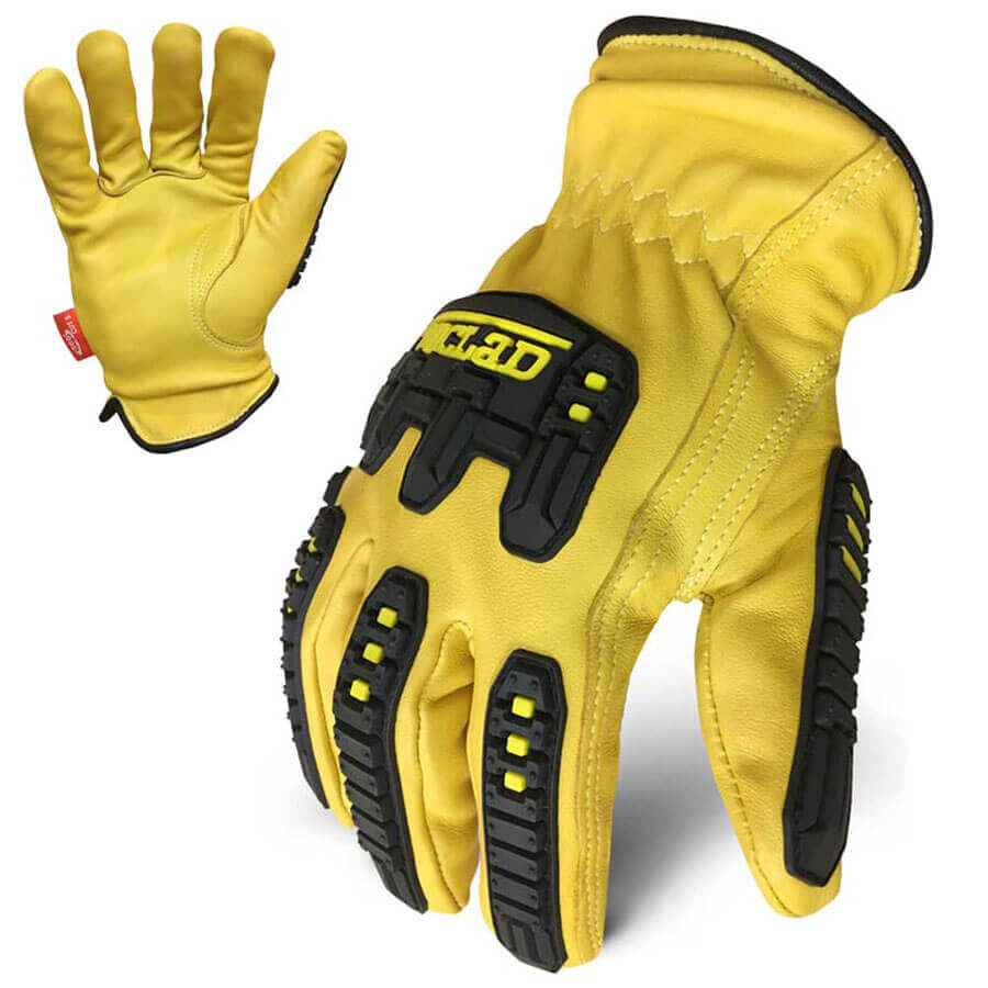 Driving gloves edmonton - Ironclad Ultimate 360 Genuine Leather Impact Glove