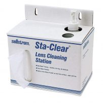 lens cleaning stations