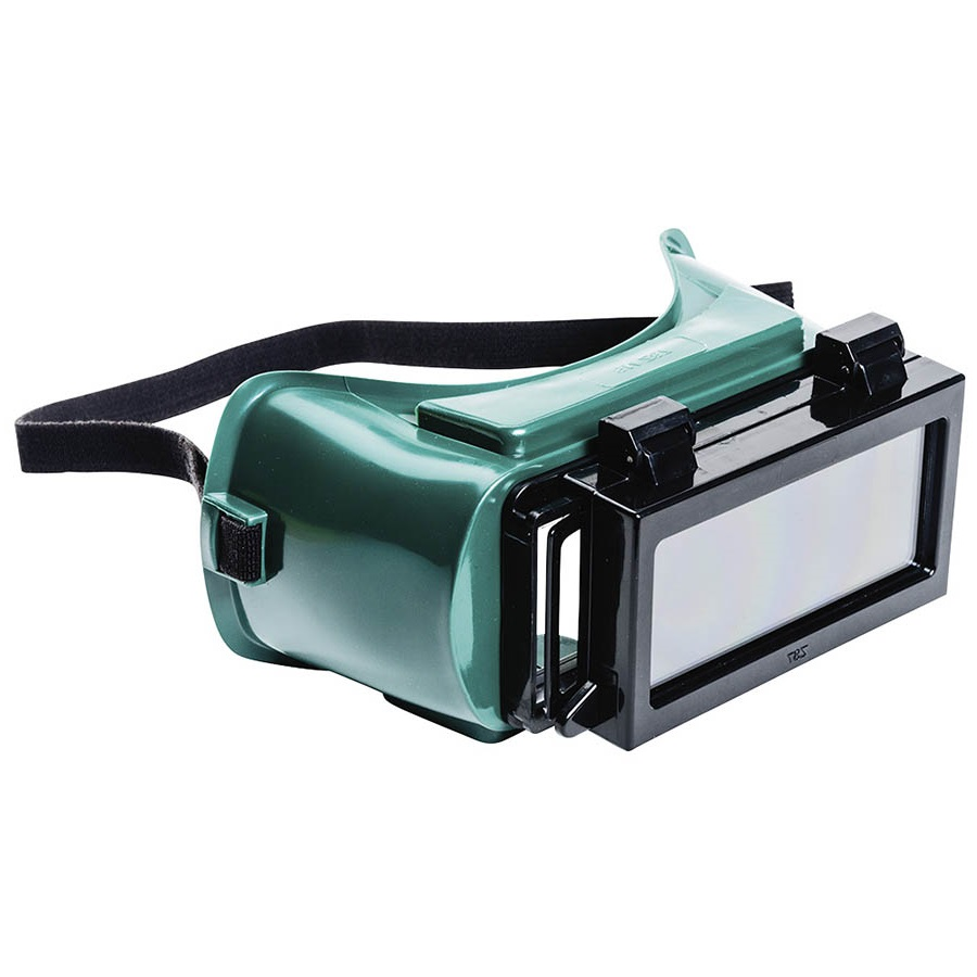 Lift front plate welding goggle