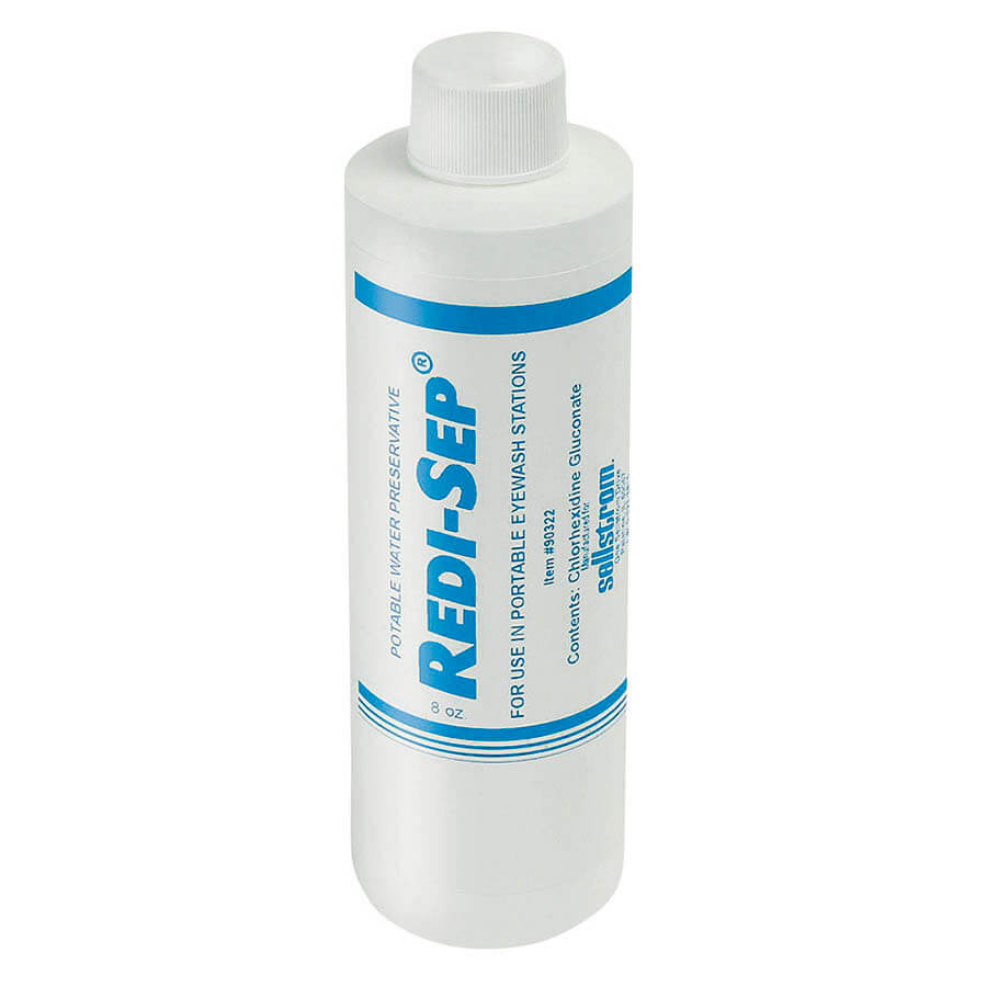 eyewash bacteriostatic additive